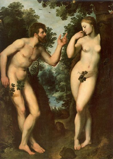Rubens, Peter Paul: Adam and Eve in Paradise. Fine Art Print/Poster. Sizes: A1/A2/A3/A4 (002123)